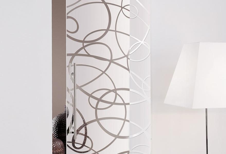 Fondo sabbiato, disegno trasparente-inciso - Light & Color Polvere